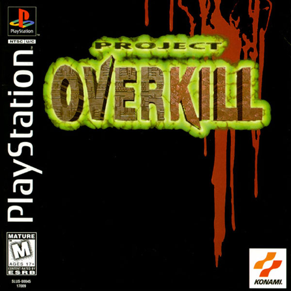 project overkill Find great deals for project overkill (sony playstation 1, 1996) shop with confidence on ebay.